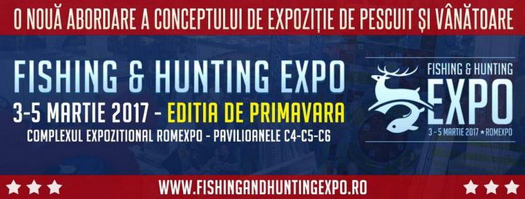 Fishing hunting expo 2017 editia de primavara for Hunting and fishing expo